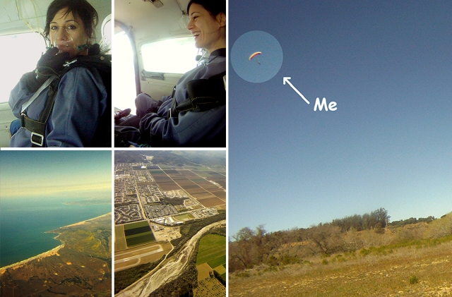 Parachute Collage