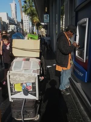 ATM & Shopping cart